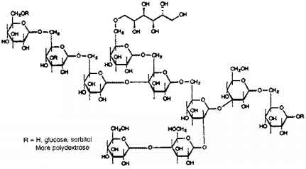 Structure Polydextrose