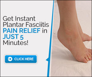 Natural Cure for Plantar Fasciitis